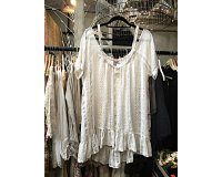 Lace by Donelle Scott | Boho Cotton & Lace Top