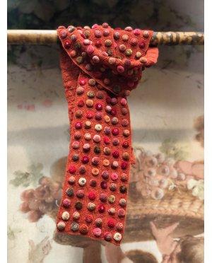 Sophie Digard - Biscuit Pop - Medium - Crochet Scarf - Merino