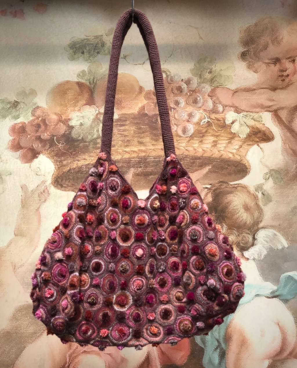 Sophie Digard - Crocheted Shoulder Bag - Medium - Slouchy Style