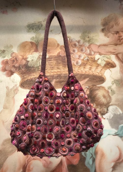 Sophie Digard | Crocheted Shoulder Bag | Medium | Slouchy Style