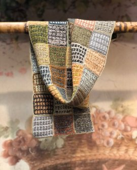 Sophie Digard - Esprit Voyageur - Small - Crochet Scarf - Merino