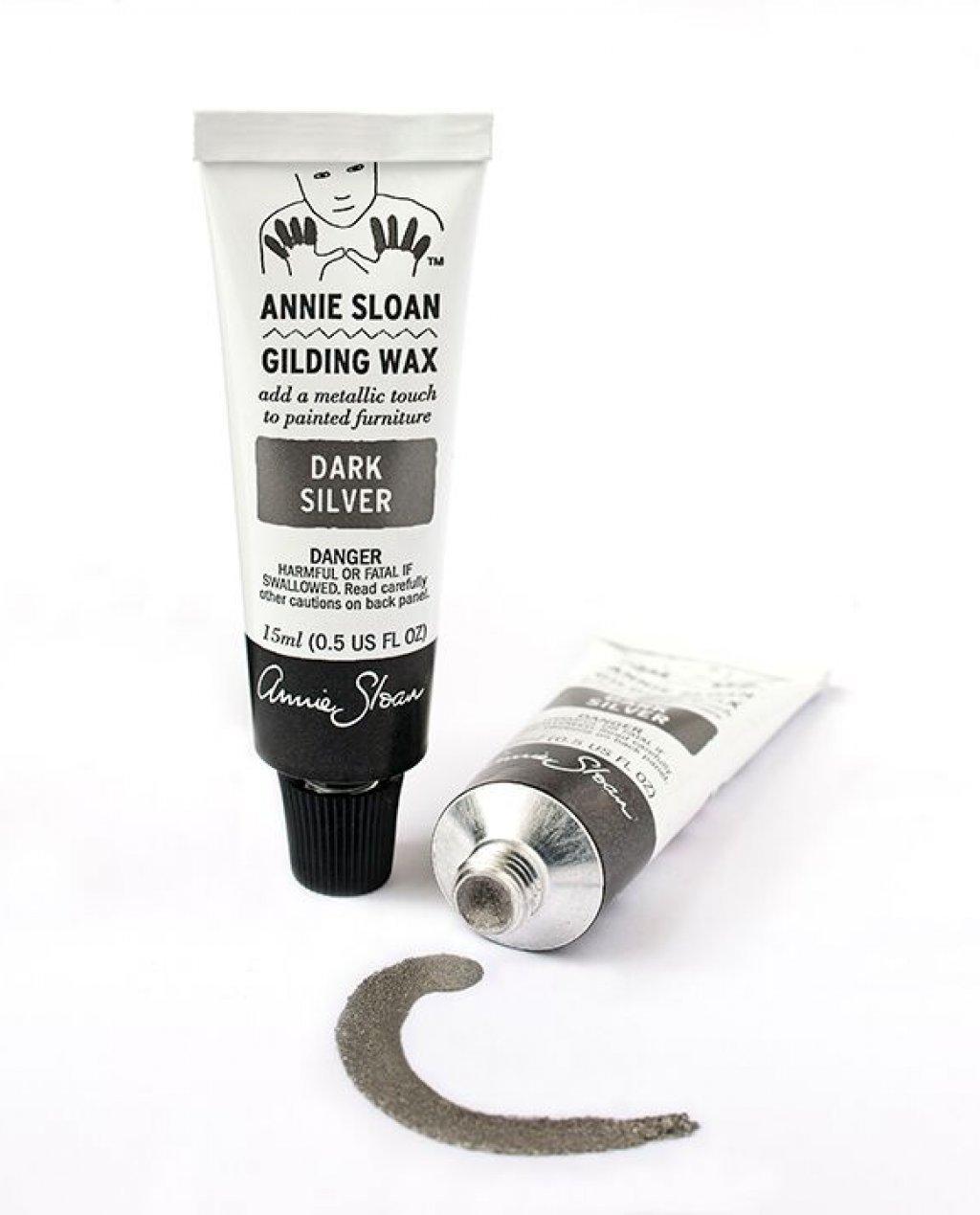 Annie Sloan Gilding Wax - Dark Silver