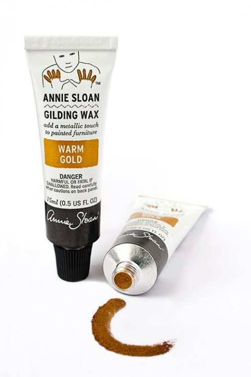 Annie Sloan Gilding Wax - Warm Gold