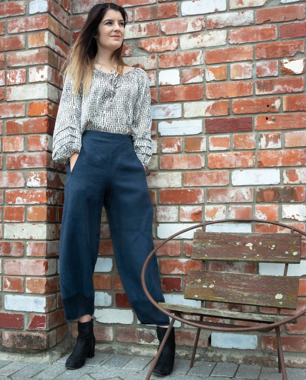 Banana Blue | Linen Pants | Stiller