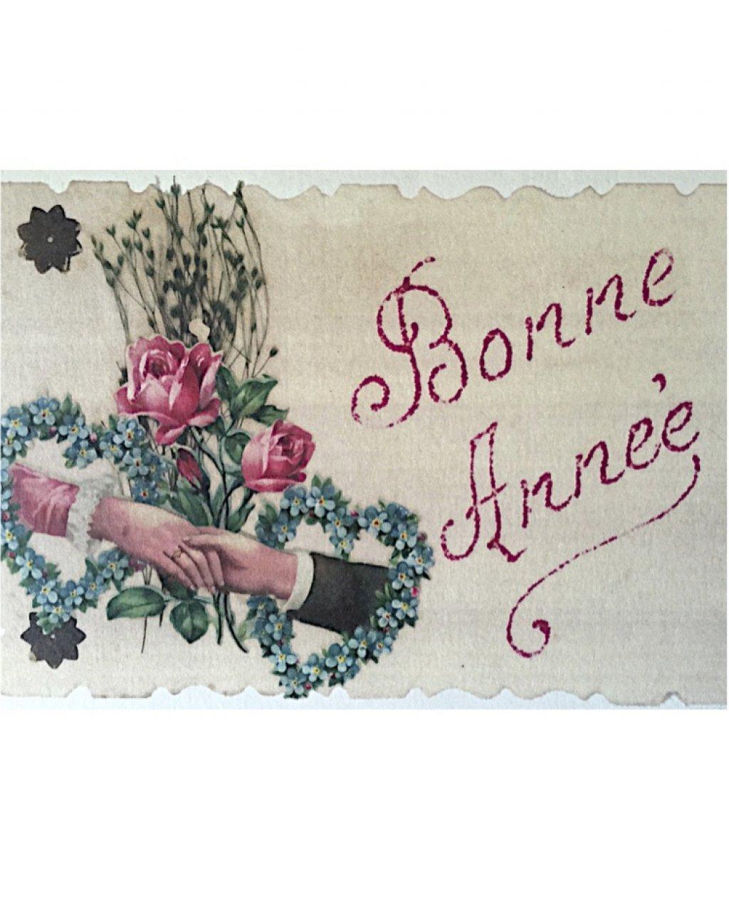 Bliss Art Card   Bonne Annee