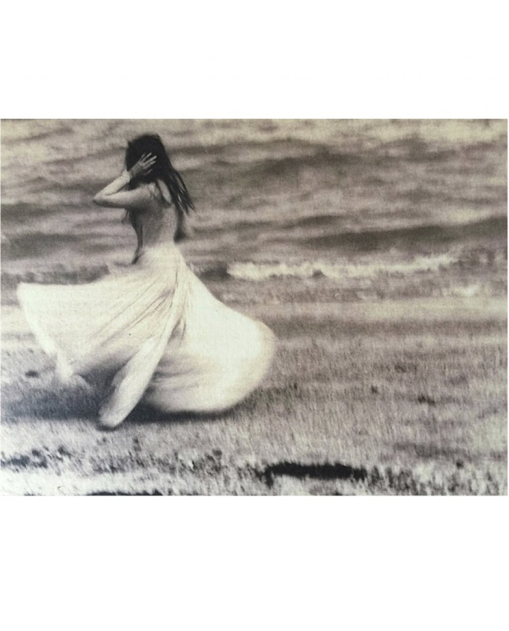 Bliss Art Card | By the Sea