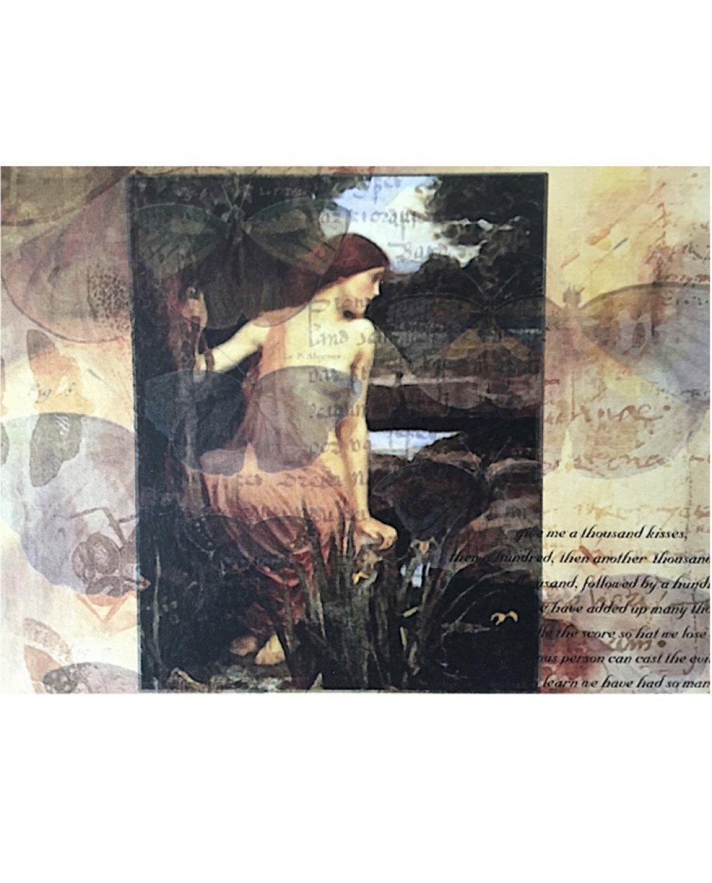 Bliss Art Card | A Thousand Kisses