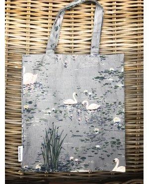 Bianca Lorenne | Linen Tote Bag | Cigna Duck Egg