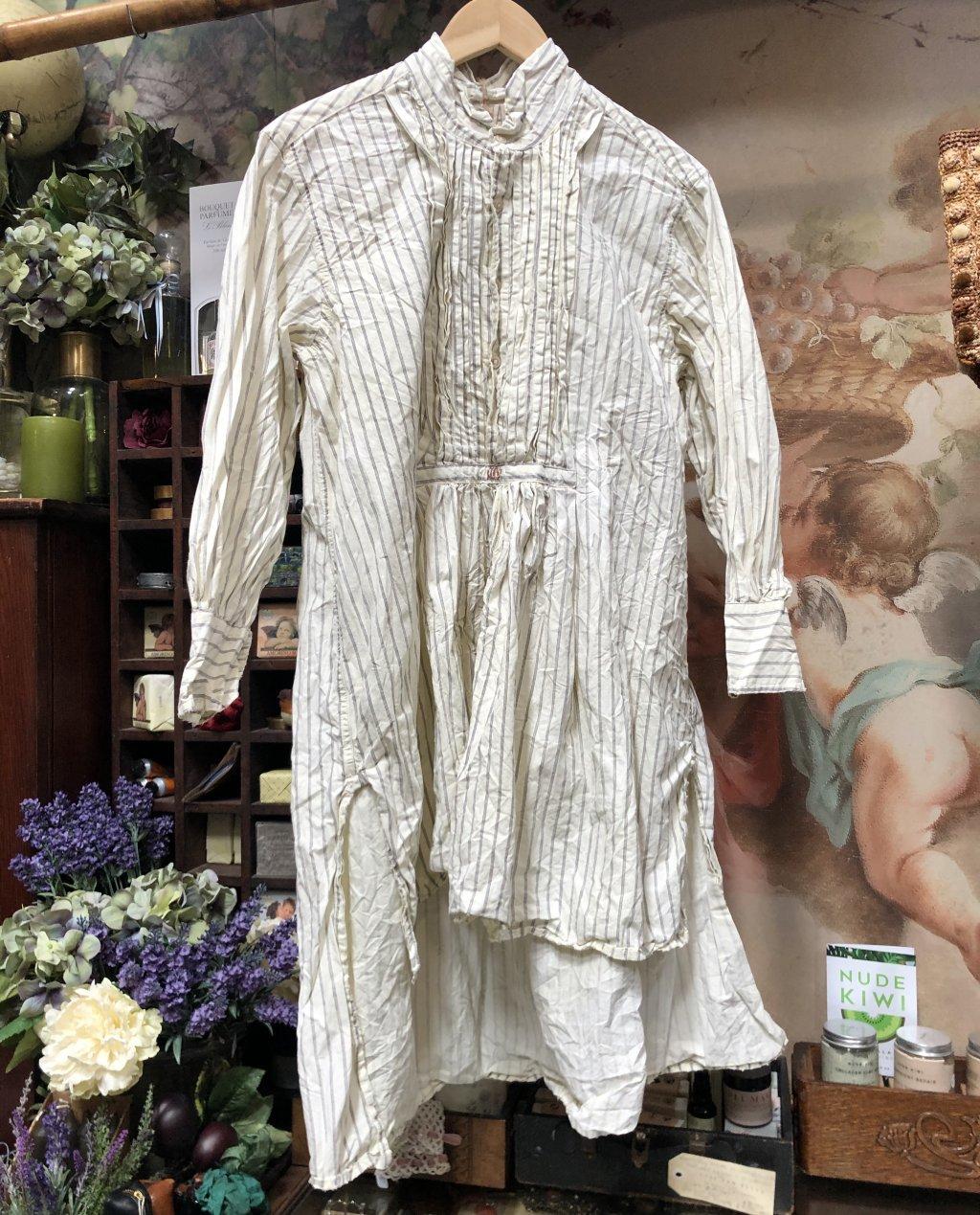 Magnolia Pearl   Cordelia Night Shirt  French Cotton Poplin   Whistlestop