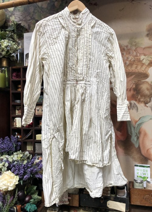 Magnolia Pearl | Cordelia Night Shirt| French Cotton Poplin | Whistlestop