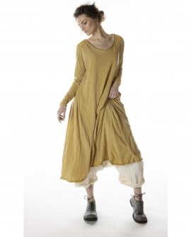 Magnolia Pearl | Cotton Jersey T Dress | Marigold