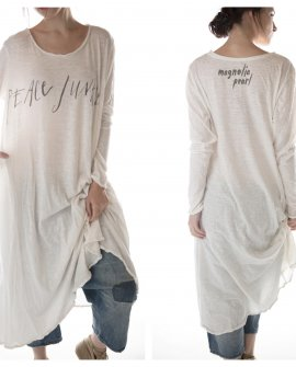 Magnolia Pearl | Cotton Jersey Dylan T Dress | True