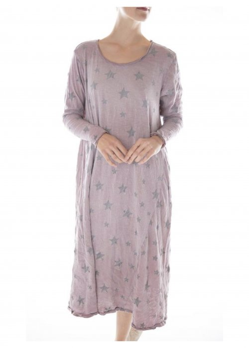 Magnolia Pearl | Cotton Jersey Dylan T Dress | Star Dust