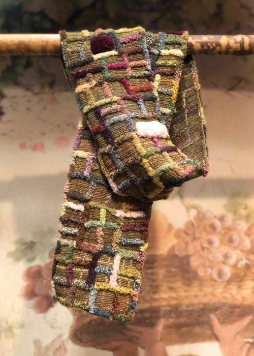 Sophie Digard | Margin | Medium Crocheted Scarf | Merino