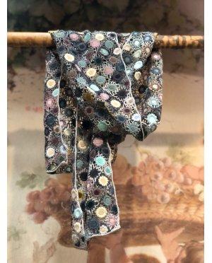 Sophie Digard - Crocus - Large Crochet Scarf - Merino
