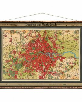 Wall Hanging by Erstwhile | Map of London