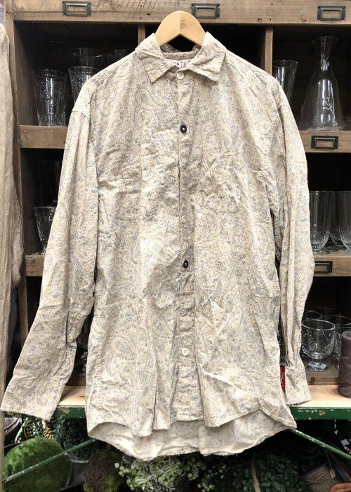 Magnolia Pearl | Boyfriend Shirt | Fleuri | European Cotton