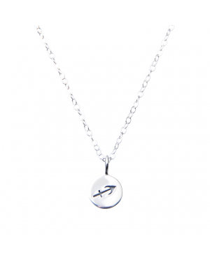 Pam Kerr Designs | Sterling Silver Zodiac Charm Necklace | 5-Sagittarius