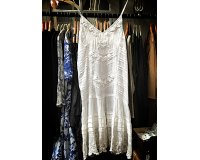 Gado Gado | White embroidered cotton sundress