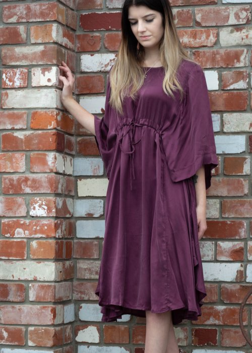 Jason Lingard | Gypsy Dress | Plum