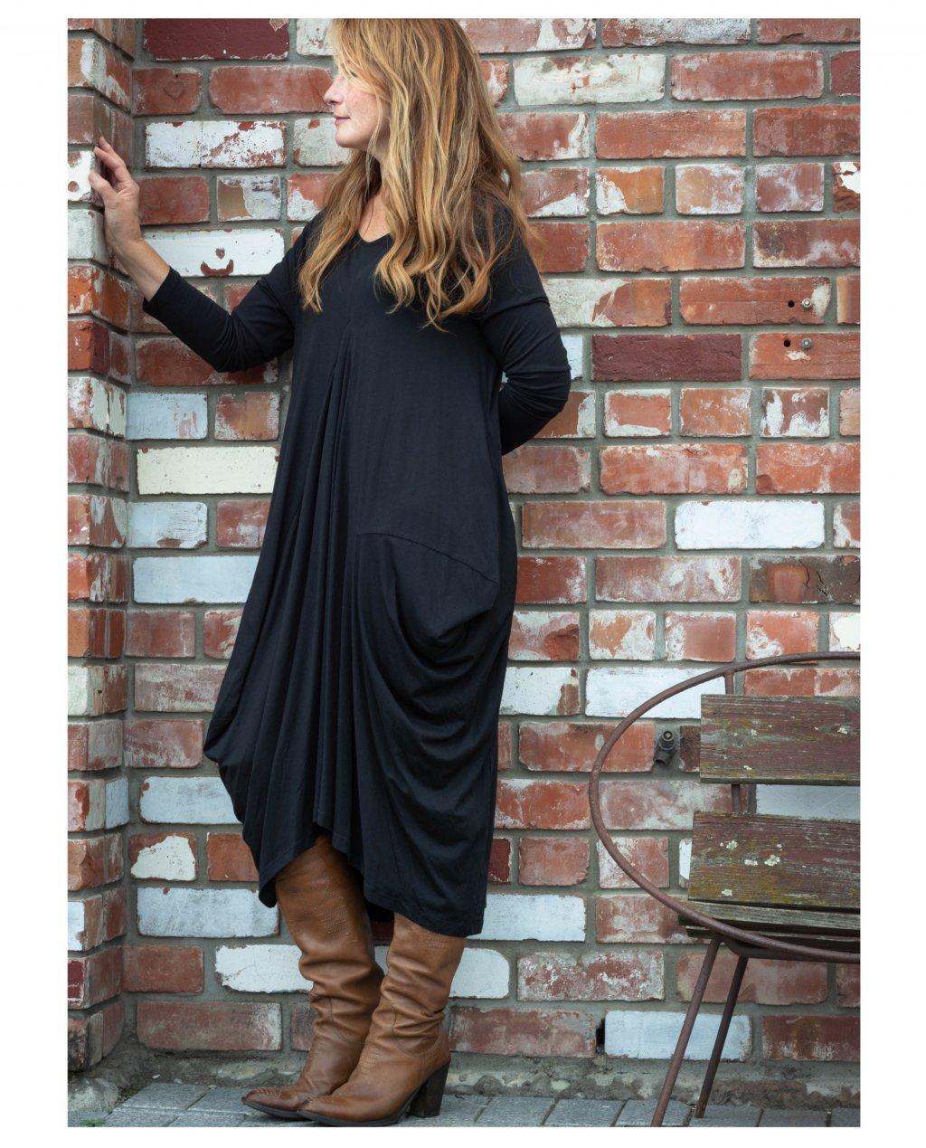 Jason Lingard | Helios Dress | Black