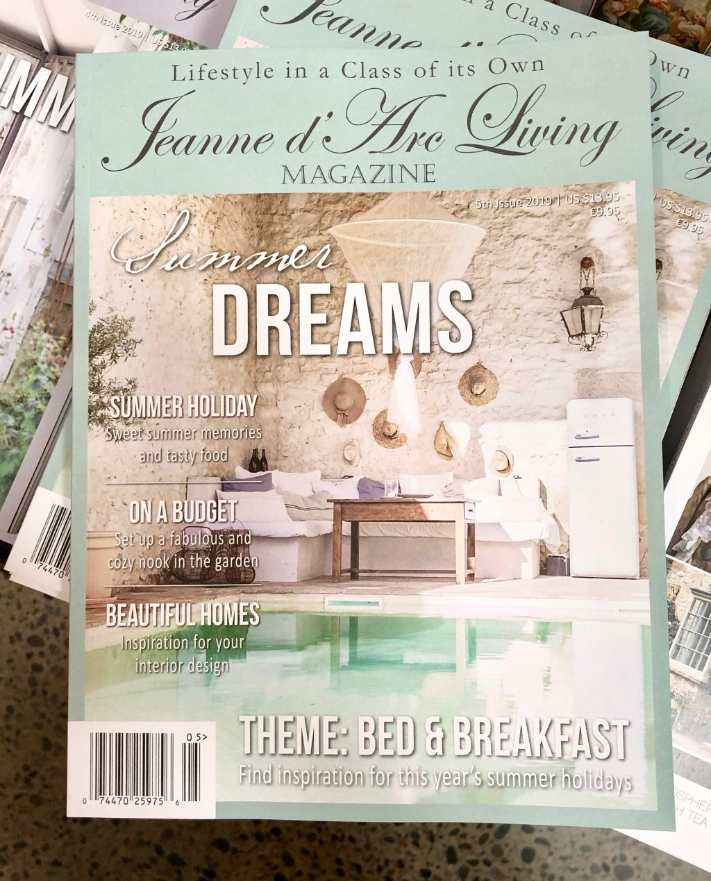Jeanne d'Arc Living Magazine | Issue 5| 2019