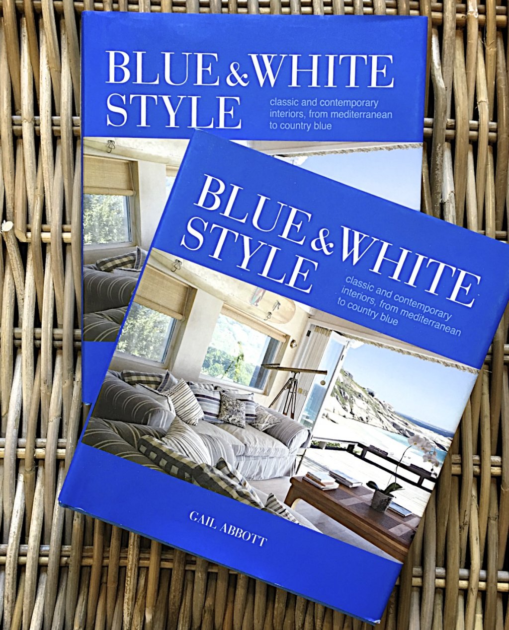 Gail Abbot | Blue & White Style