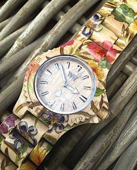 WeWood Watch | Date Flower Beige