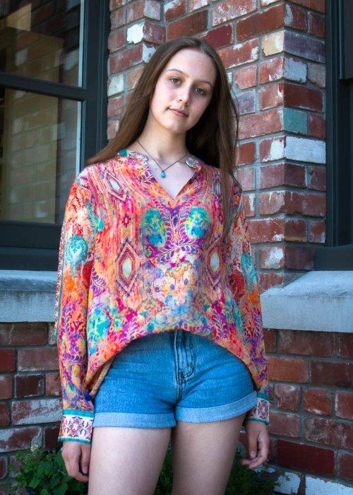 Inoa Fashions | Silk Blouse | Modena
