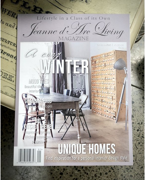 Jeanne d'Arc Living Magazine | Issue 1| 2021