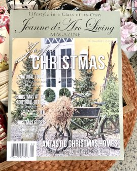 Jeanne d'Arc Living Magazine | Christmas Issue | Issue 8 | 2019