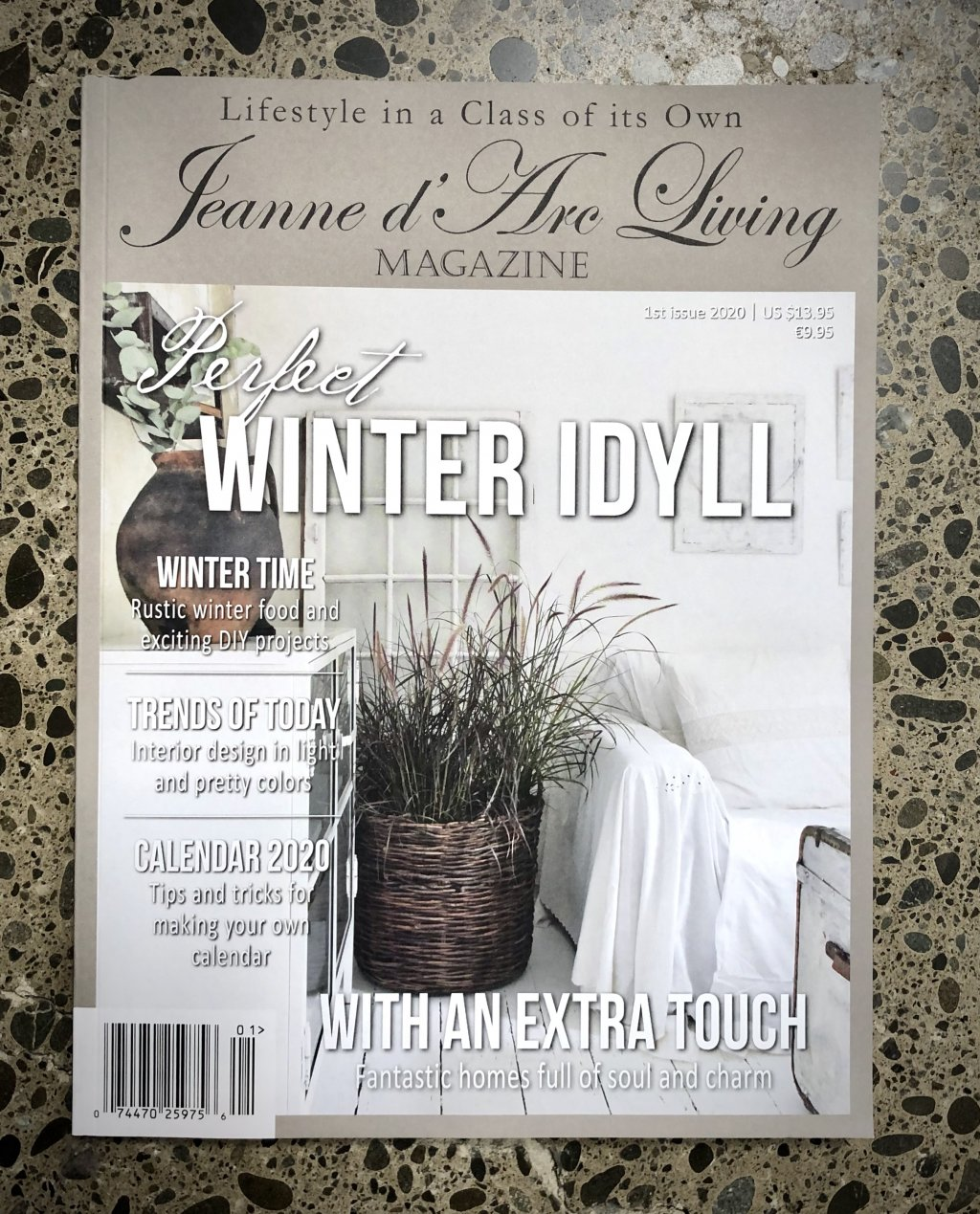 Jeanne d'Arc Living Magazine | Issue 1| 2020