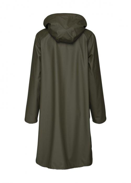 Ilse Jacobsen   Raincoat with Detachable Hood   Army