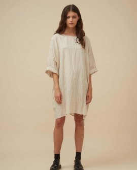 Widdess - Jiho Dress - Linen - Natural