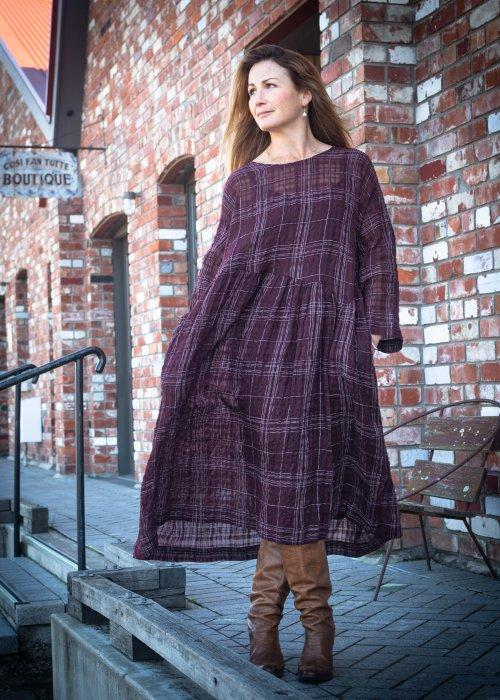 Jason Lingard | Kilter Dress | Crimson