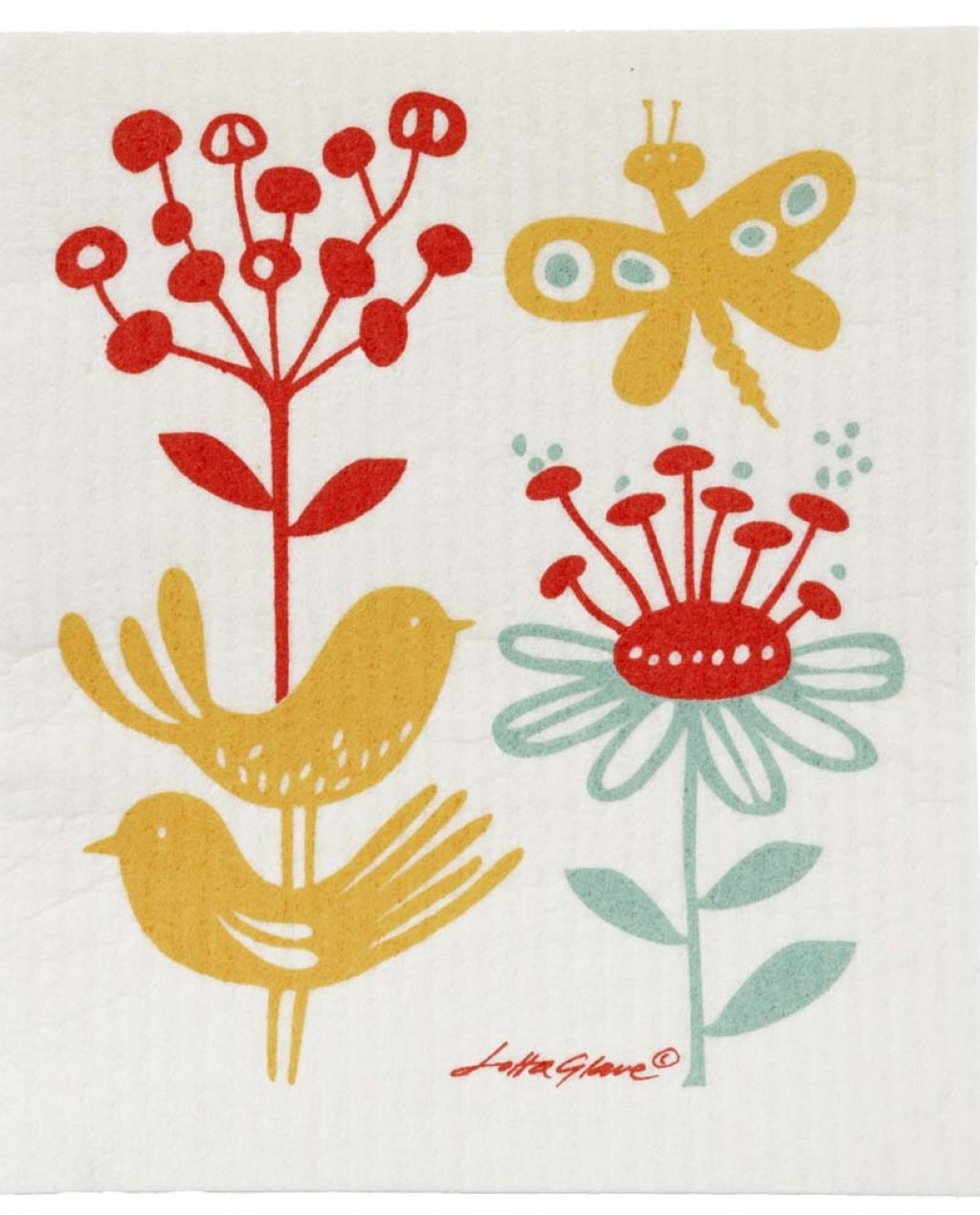 Klippan | Dishcloth | Butterfly