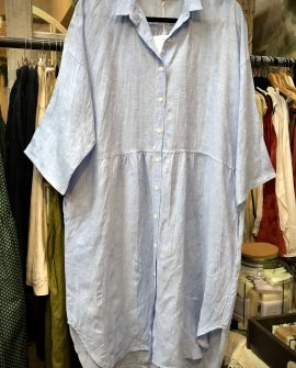 Widdess - Kyoto Dress - Linen - Leon