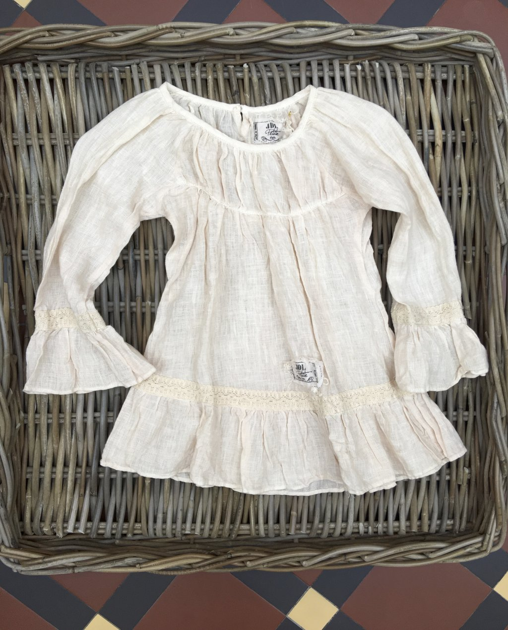 Jeanne d'Arc Living | Child's Linen Tunic