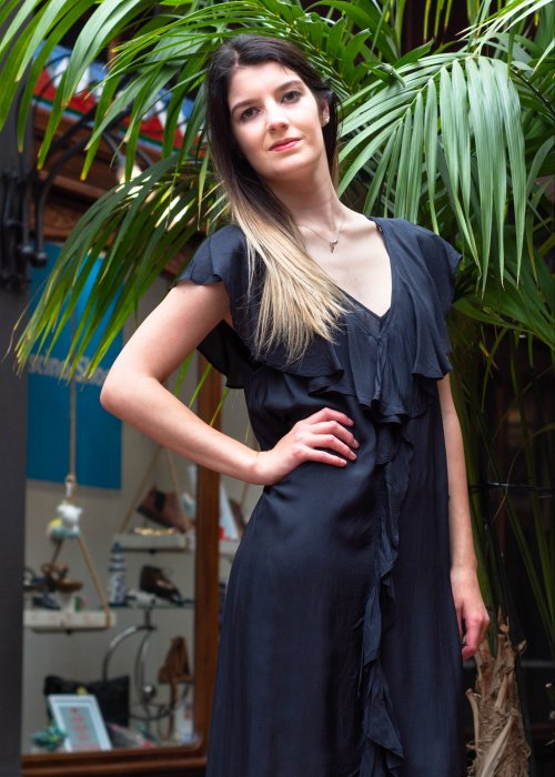 Mes Demoiselles Paris   Cumbre Black Dress