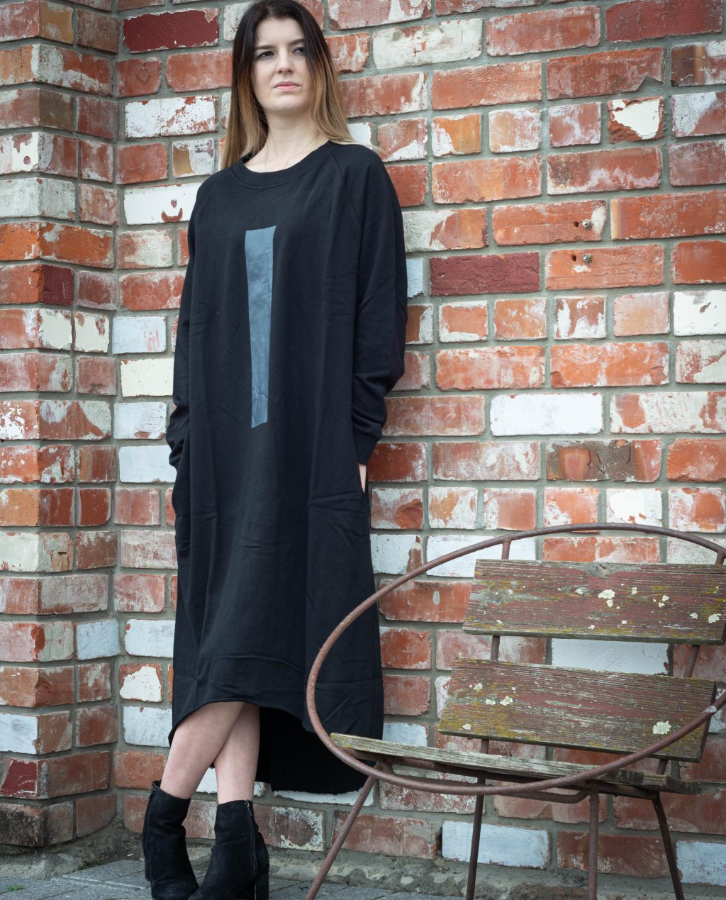 Jason Lingard | Monolith Sweat Dress | Black