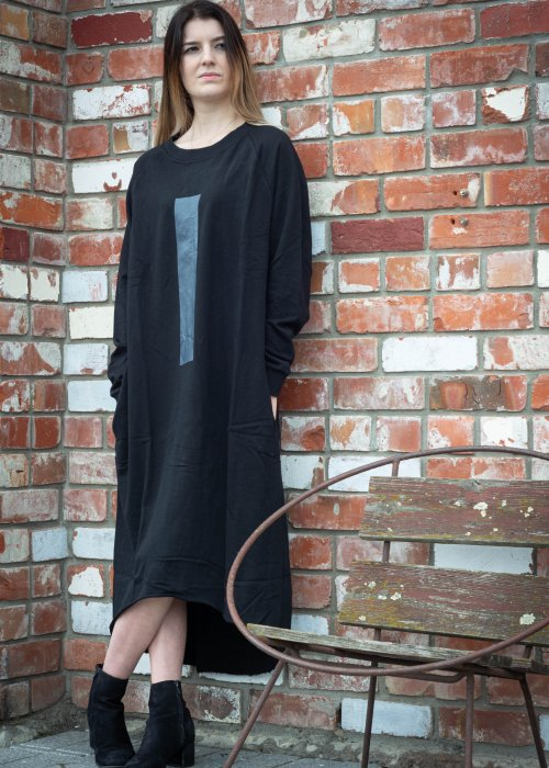 Jason Lingard | Monolith Sweat Dress | Black