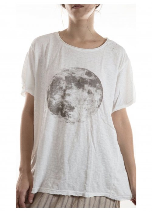 Magnolia Pearl | Cotton Jersey Moon T | True