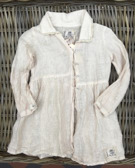 Jeanne d'Arc Living | Child's Linen Jacket | Adorable Hearts