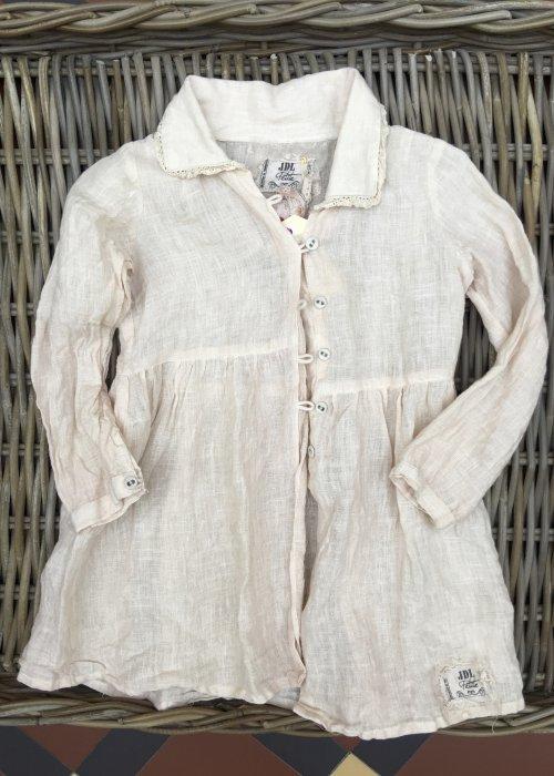 Jeanne d'Arc Living   Child's Linen Jacket   Adorable Hearts