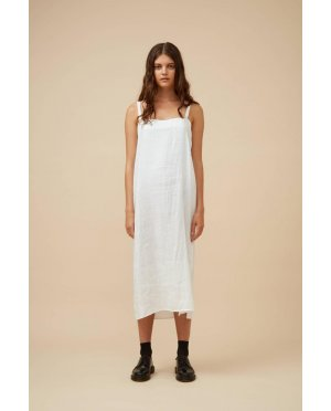 Widdess - Ranger Dress - Linen - White