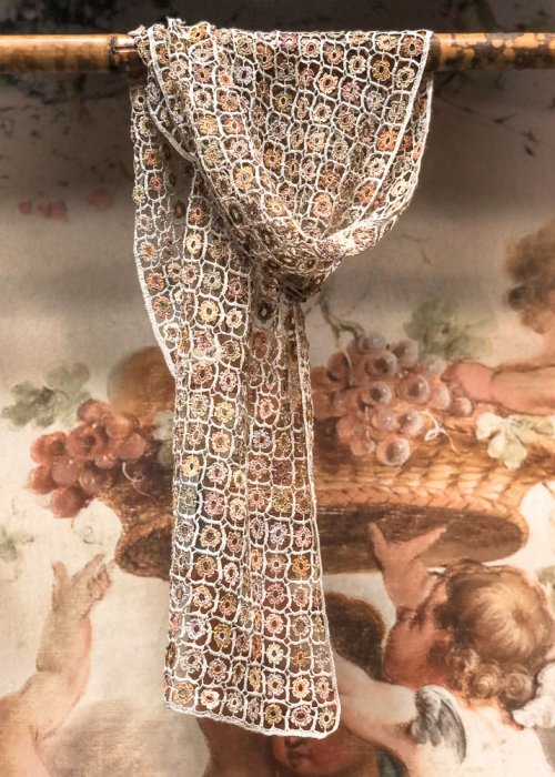 Sophie Digard | ALL NEW - SPRING 2020 | Simple is Beautiful | Crocheted Linen Scarf