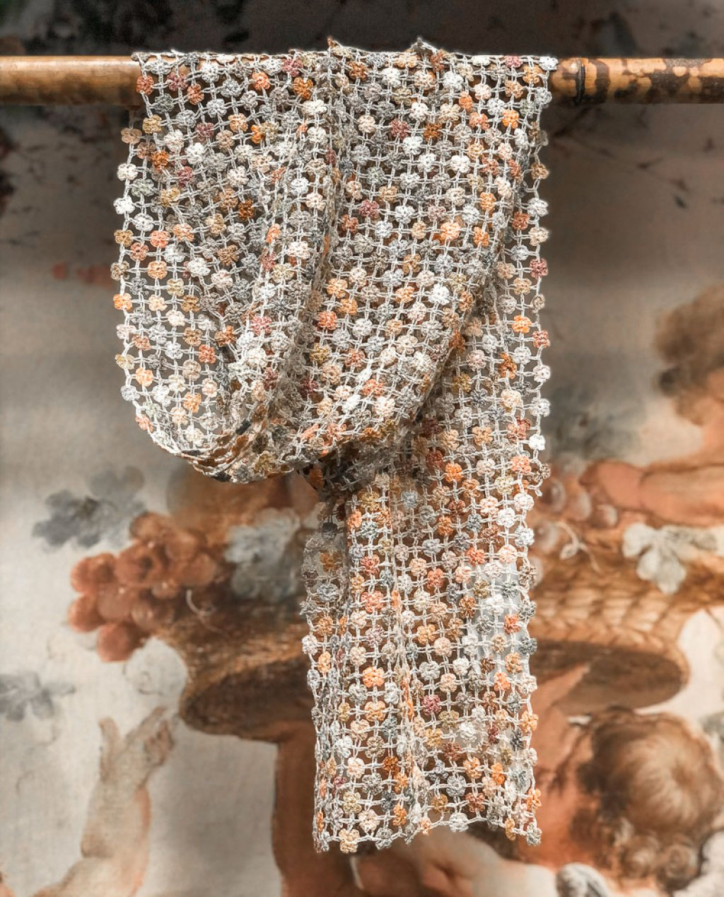 Sophie Digard   ALL NEW - SPRING 2020   Way of Life   Crocheted Linen Scarf