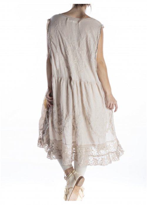 Magnolia Pearl  Seraphina Dress   European Cotton   Moonlight