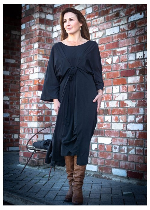 Jason Lingard   Sika Reversible Dress   Black
