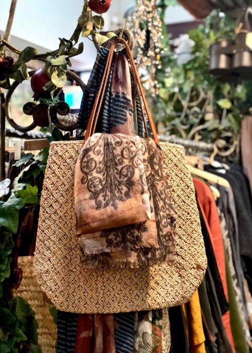 Sophie Digard | Large Rafia Shoulder Bag